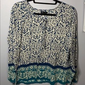 Lucky brand long sleeve size L